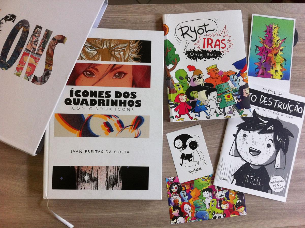icones quadrinhos - ryotiras omnibus