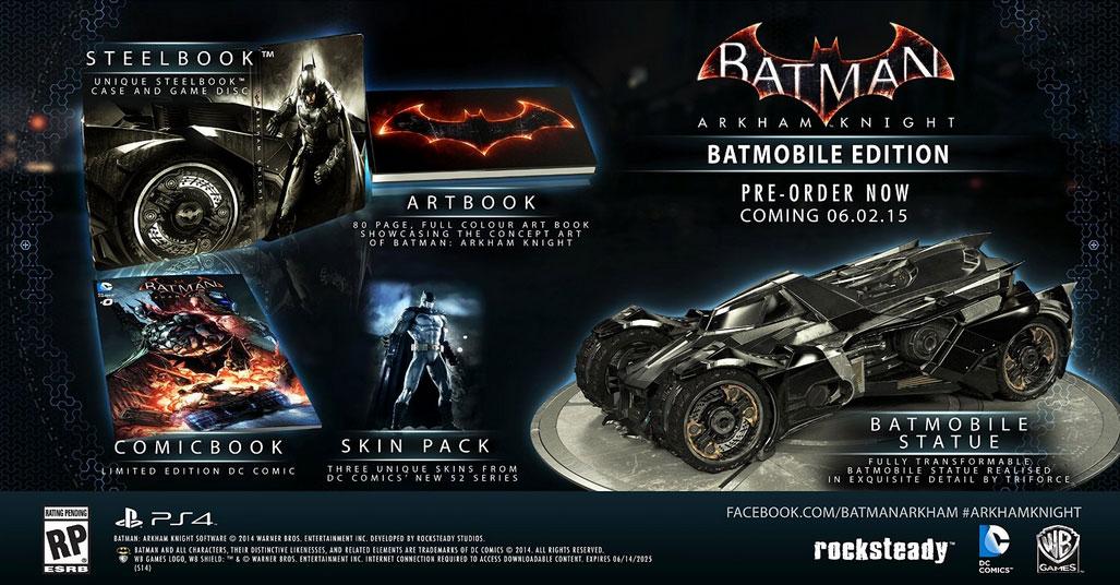 Batman Arkham Knight Limited Edition 2