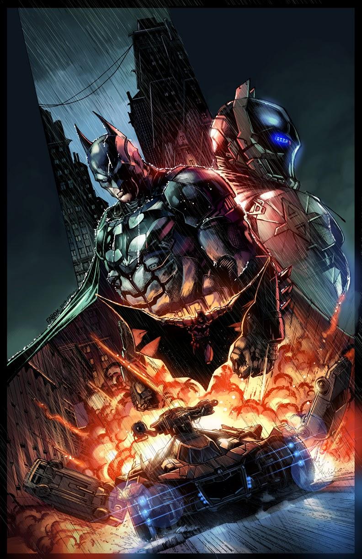 Batman Arkham Knight Limited Edition Comic Cover