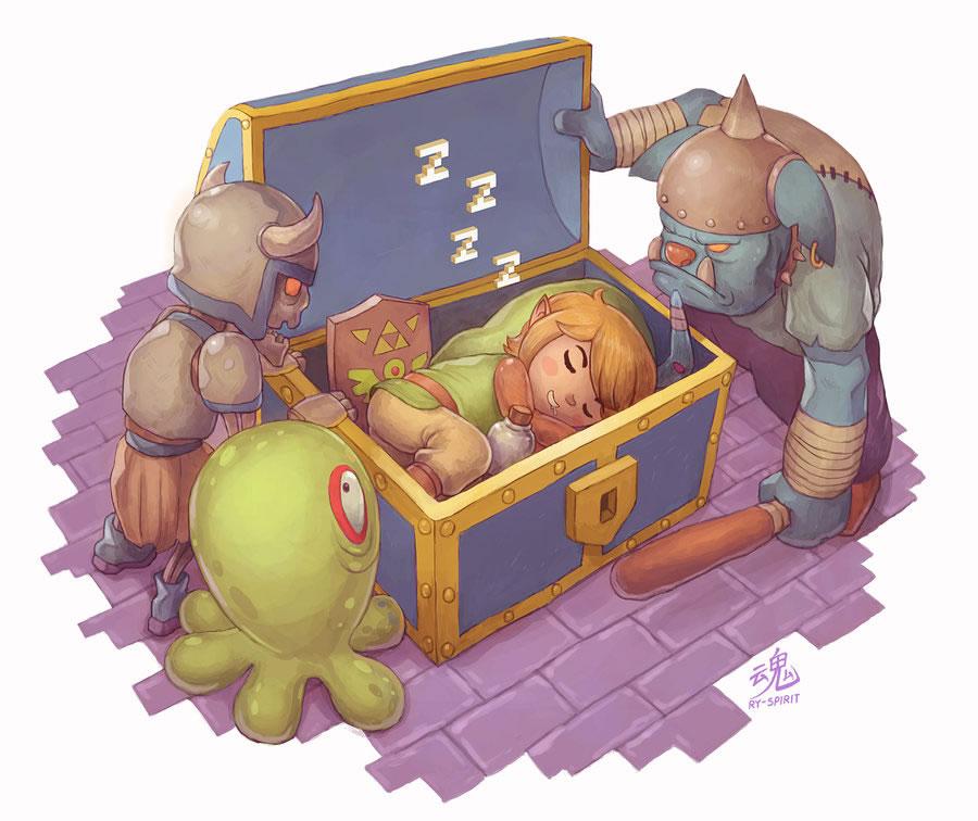Link Sleeping