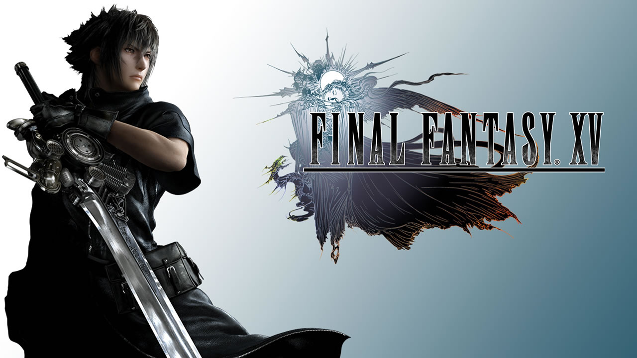 logo-and-hero-of-the-game-Final-Fantasy-xv