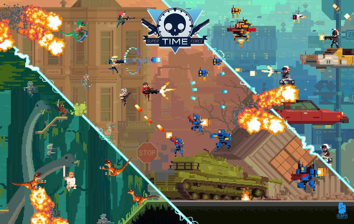 super time force mural