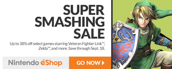 zelda smashing sale