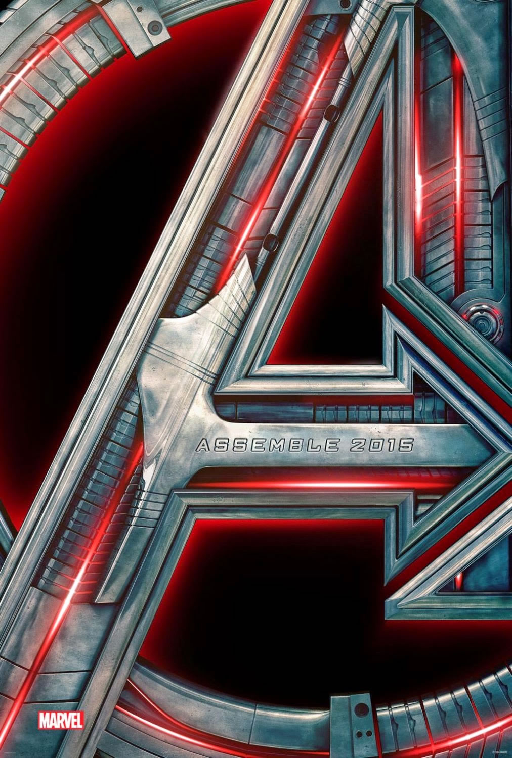 Avengers Age Of Ultron Official Teaser Poster
