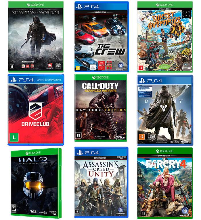 Games PS4 XOne