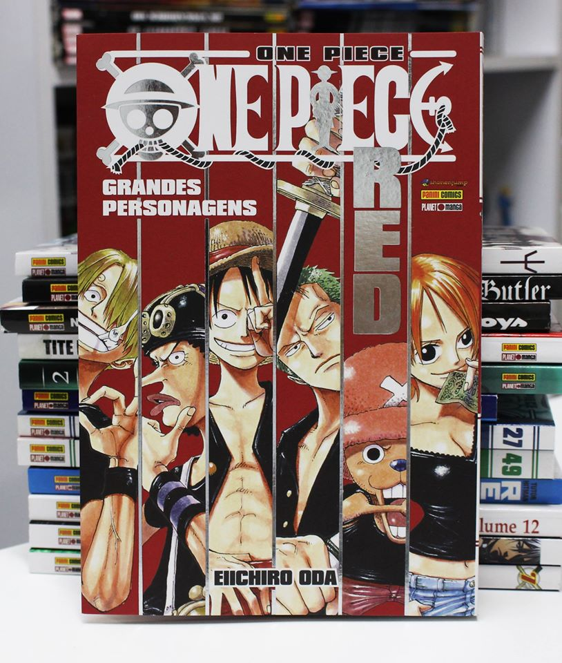 databook one piece red