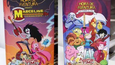 Photo of Encadernados de Hora de Aventura em oferta! +Databook One Piece, +DC/Marvel!