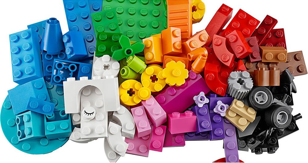 peças lego