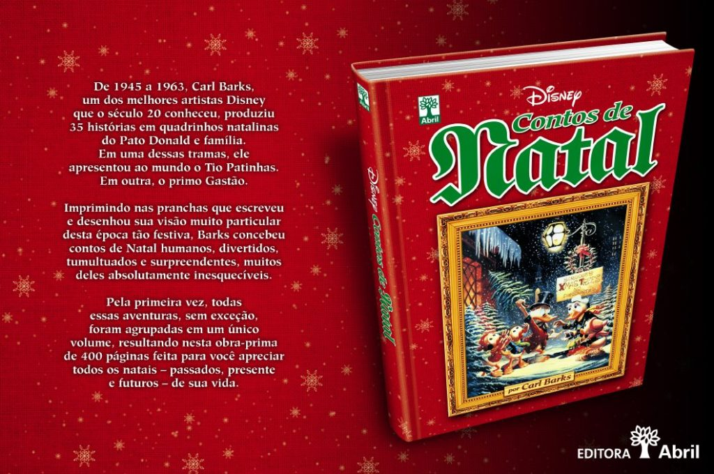 Capa Dura Disney Contos de Natal Barks