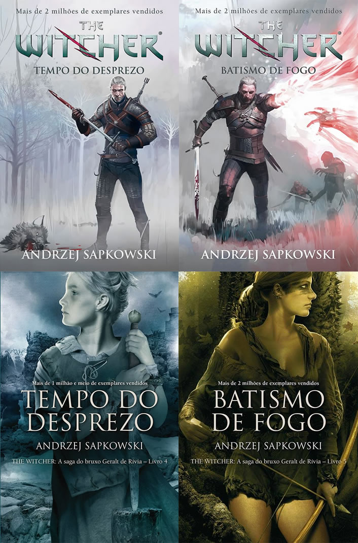 The Witcher Livro 4 5d