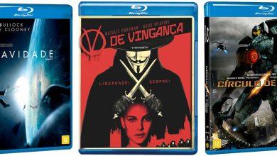 Photo of Blu-ray | Gravidade, Círculo de Fogo, V de Vingança e outros por 15 reais!