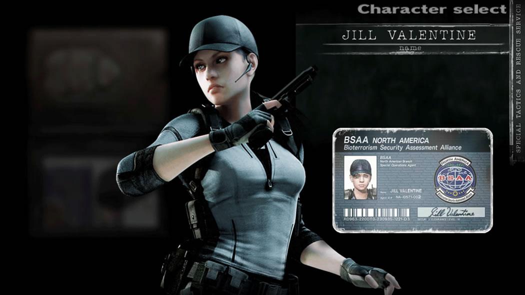 resident-evil-hd-remaster Jill BSAA