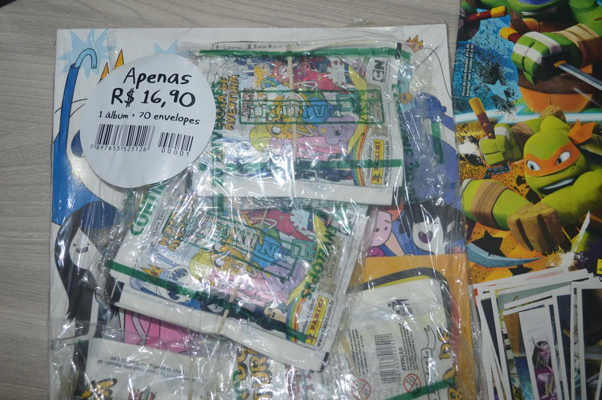 Álbuns fora de circulação voltam as bancas as vezes com estes pacotões custando menos de 20 reais!