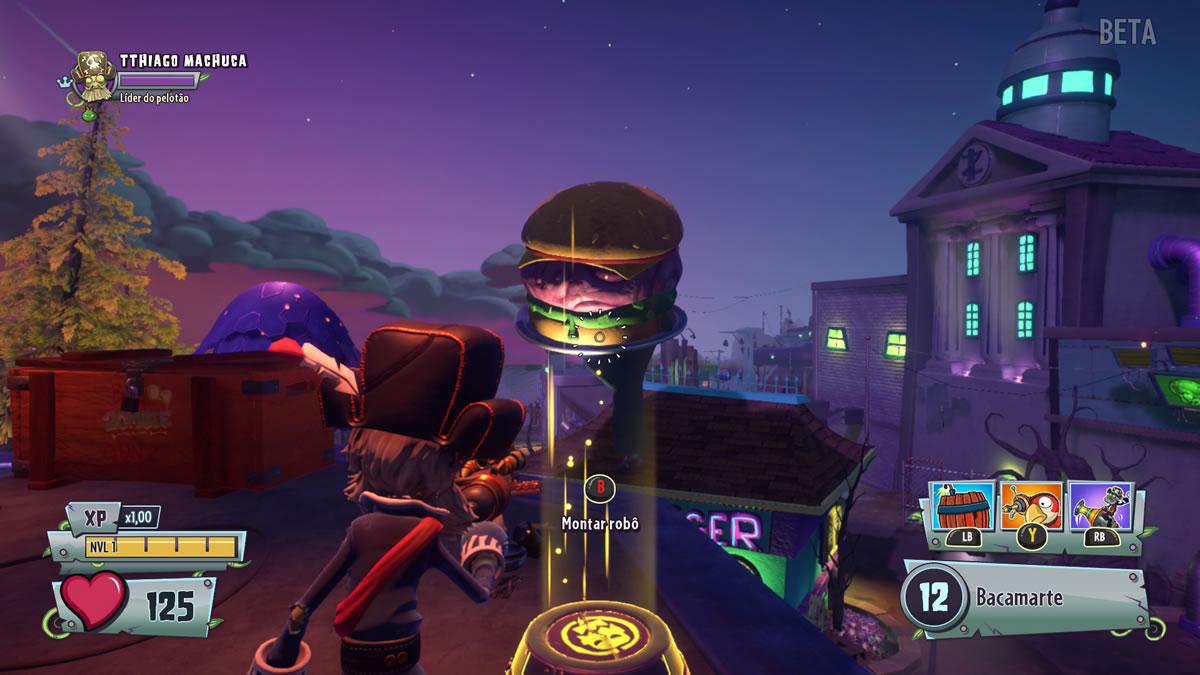 Plants vs. Zombies Garden Warfare 2 - Beta do Multiplayer (6)