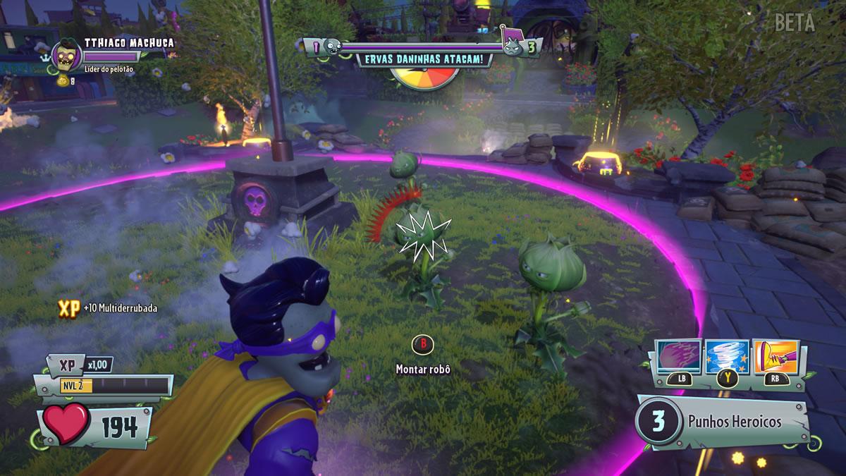 Plants vs. Zombies Garden Warfare 2 - Beta do Multiplayer (8)