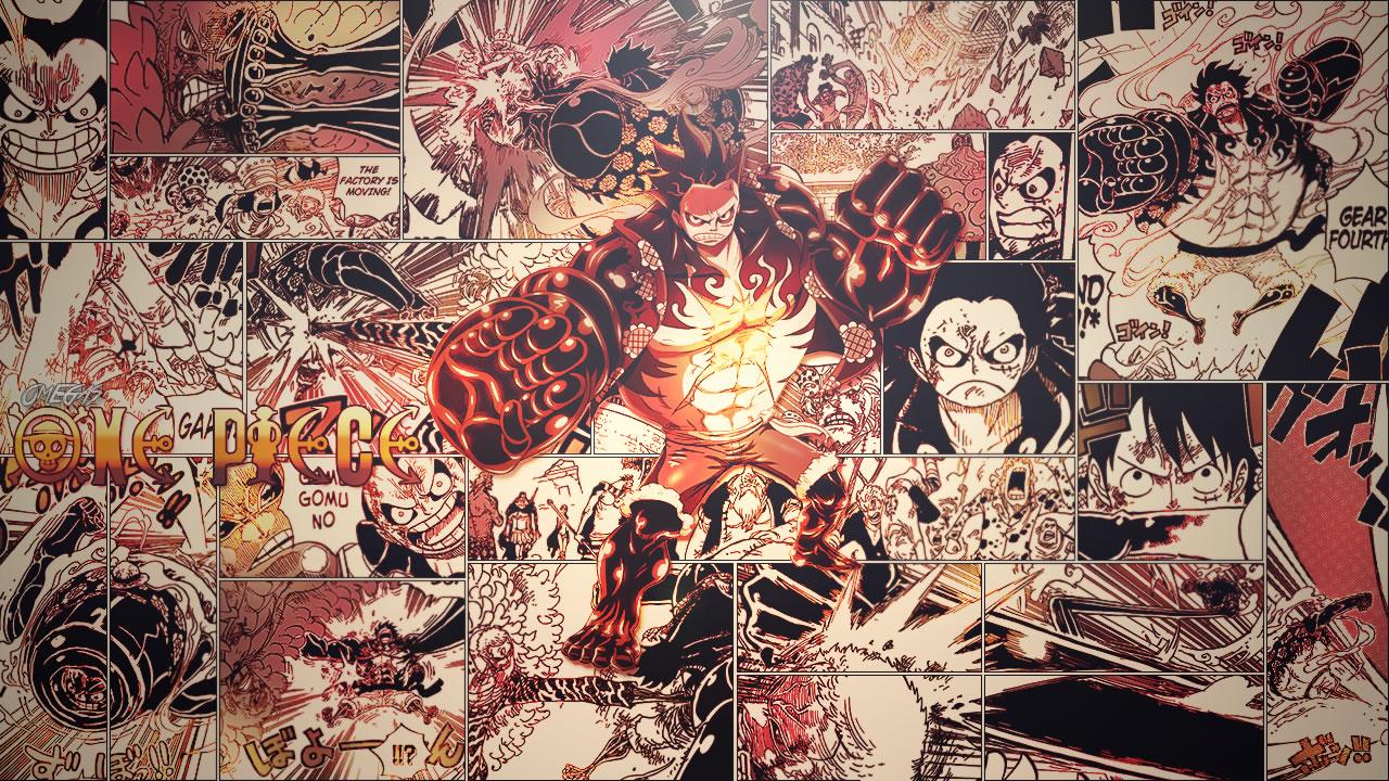 Wallpaper Luffy Gear Four