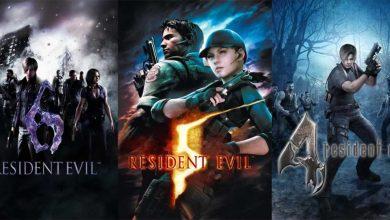 Resident Evil 6, 5 e 4