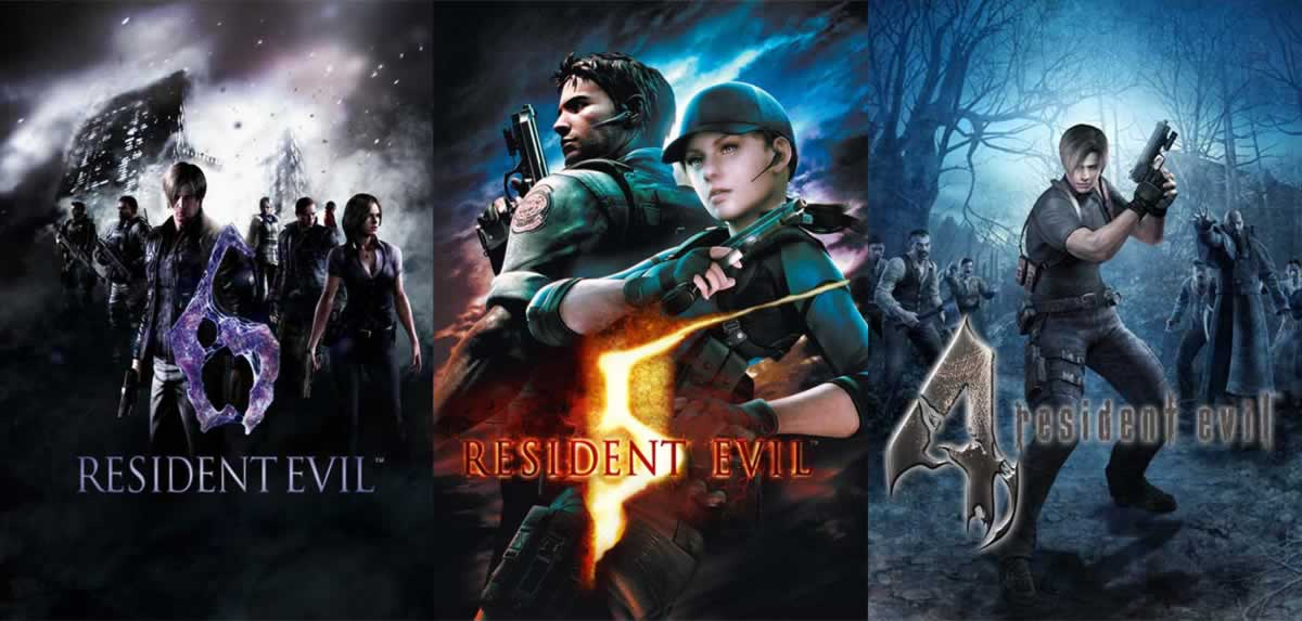 Resident Evil-4-5-6-Xbox One PS4