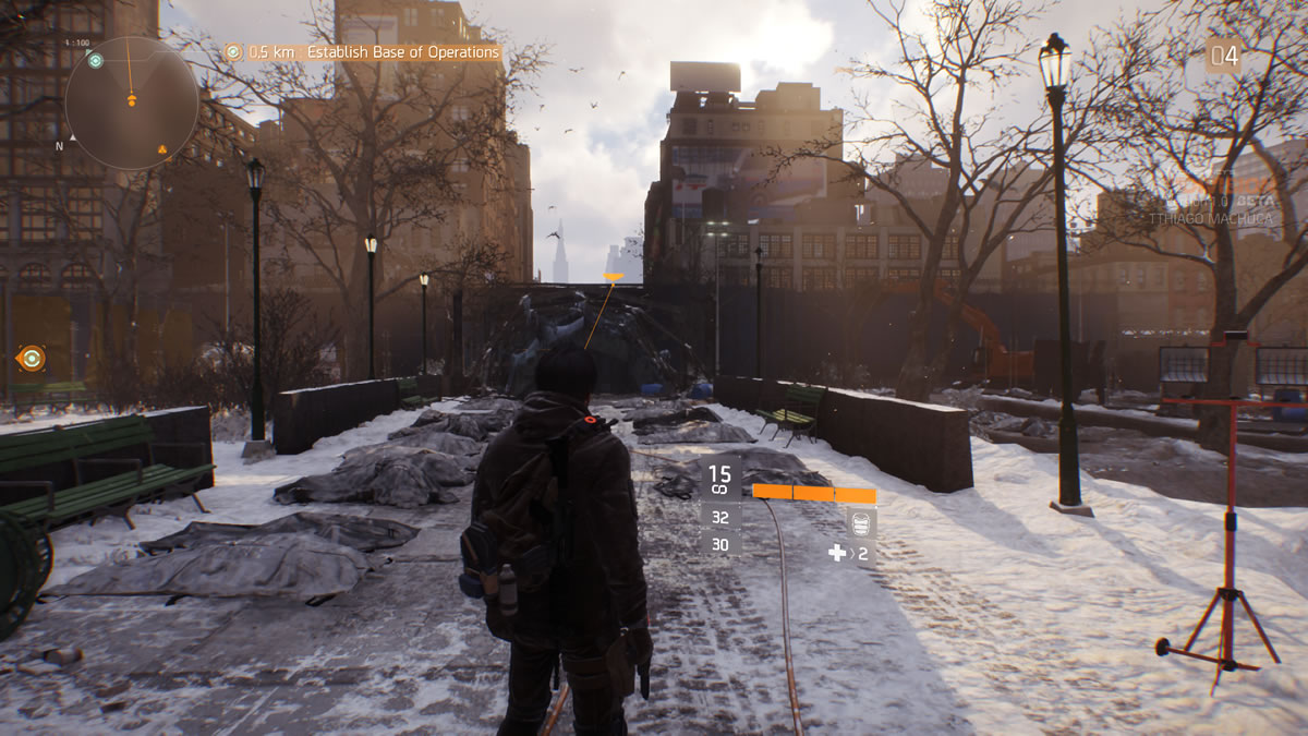 tom clancy the division beta