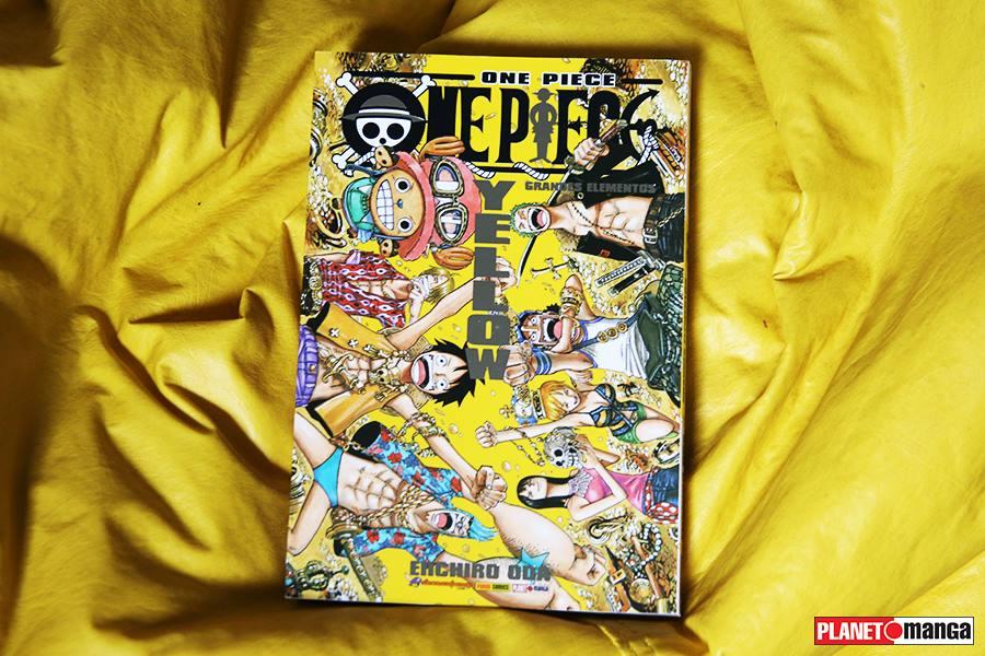 Databook One Piece Yellow