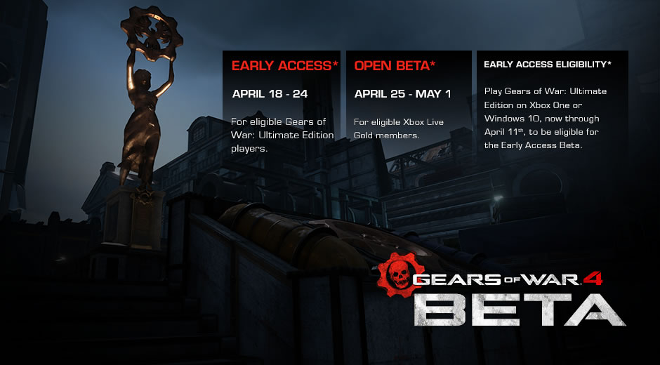 Beta Gears of War 4