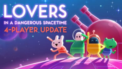 Photo of Update | Lovers in a Dangerous Spacetime ganha modo para 4 jogadores!