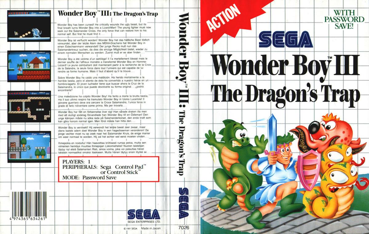 Wonder Boy III Dragon's Trap 1989
