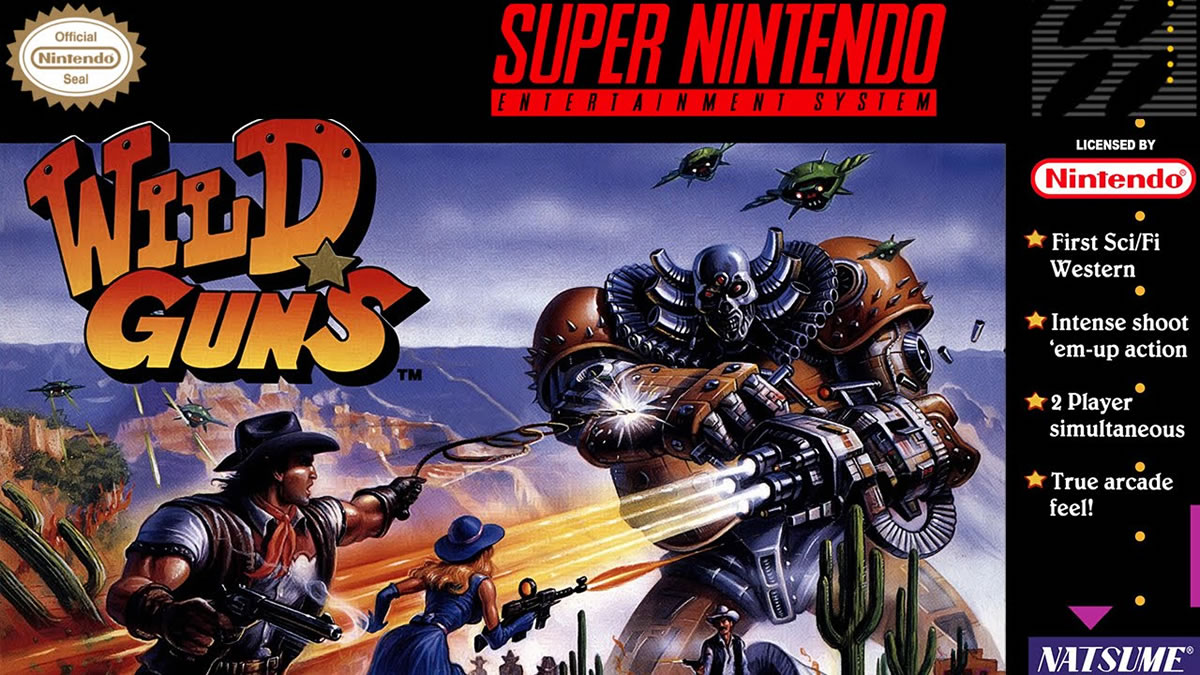 Wild Guns SNES