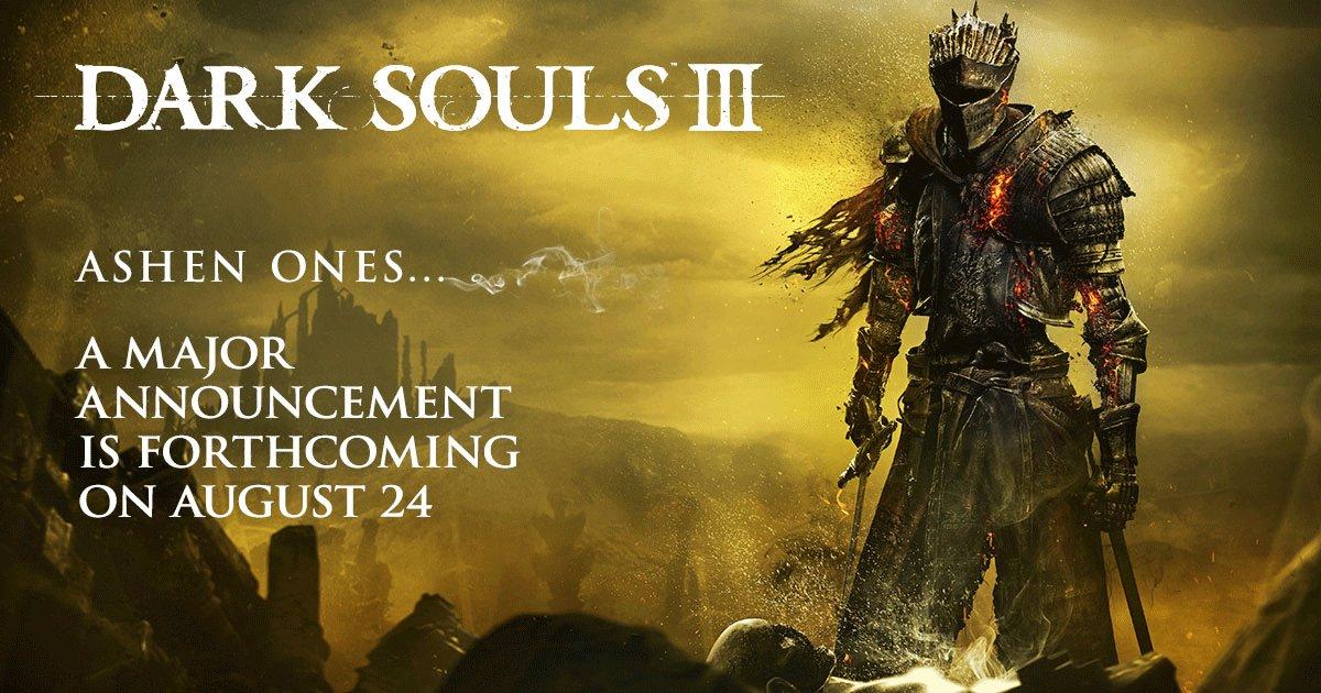 Dark Souls III Anuncio