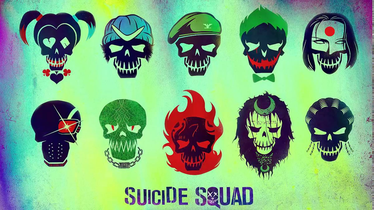 Esquadrao Suicida Icones