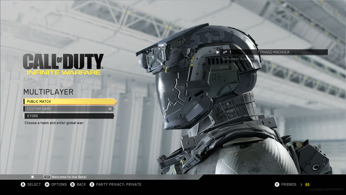 Beta do Call of Duty® Infinite Warfare (13)