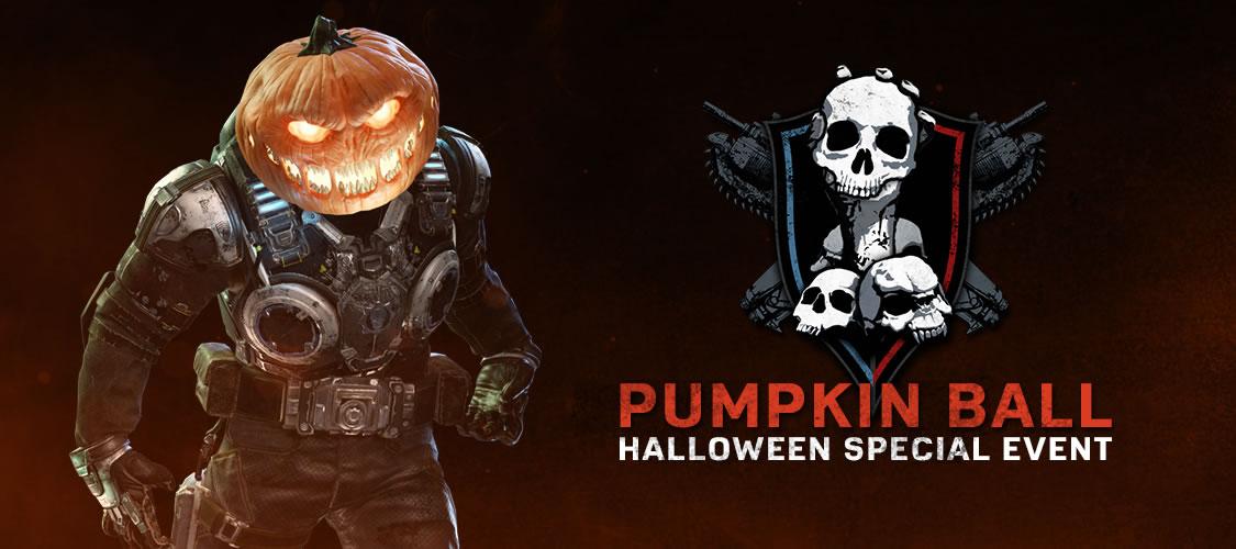 Gears of War 4 pumpkin ball