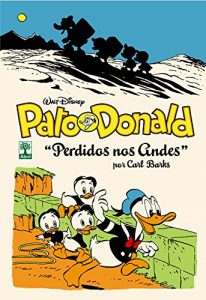 Pato Donald Perdido no Andes Carl Barks