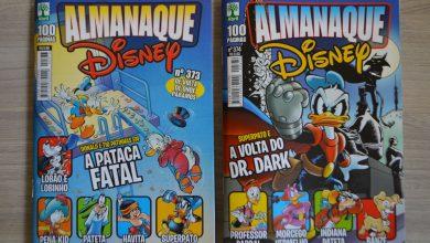 Photo of O retorno do Almanaque Disney e impressões dos nº 373 e 374!