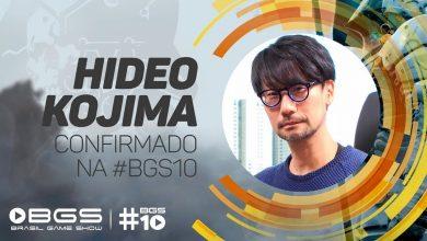 Photo of Hideo Kojima vem ao Brasil pela primeira vez para participar da Brasil Game Show