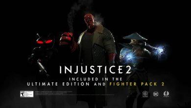 Photo of Arraia Negra, Raiden e Hellboy são os novos personagens para Injustice 2