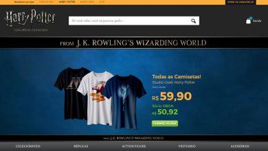Photo of Loja online temática de Harry Potter estreia no Brasil