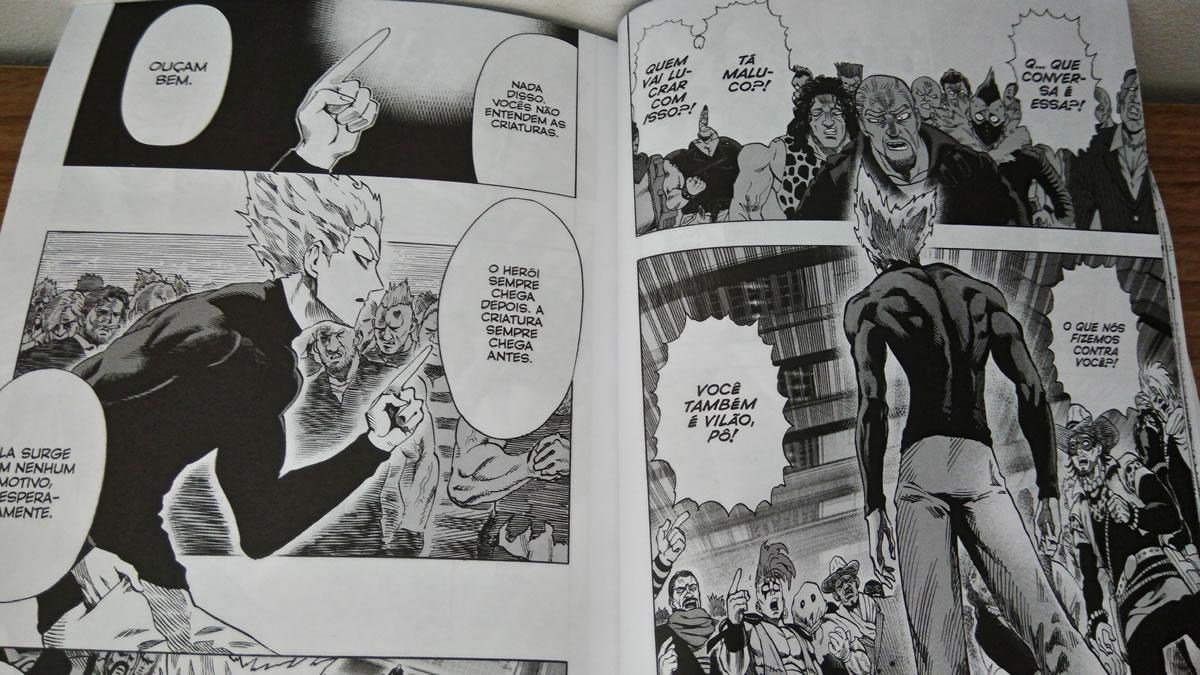 One-Punch Man | Arcos da segunda temporada! (Mangá, Vol 8 à 12