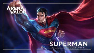 Photo of Superman é o mais novo herói da DC em Arena of Valor
