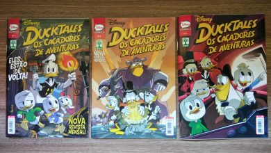 Photo of DuckTales #1 #2 #3 | Os Caçadores de Aventuras em quadrinhos! (Impressões)