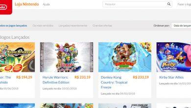 Photo of Loja digital do Nintendo Switch é oficialmente lançada no Brasil