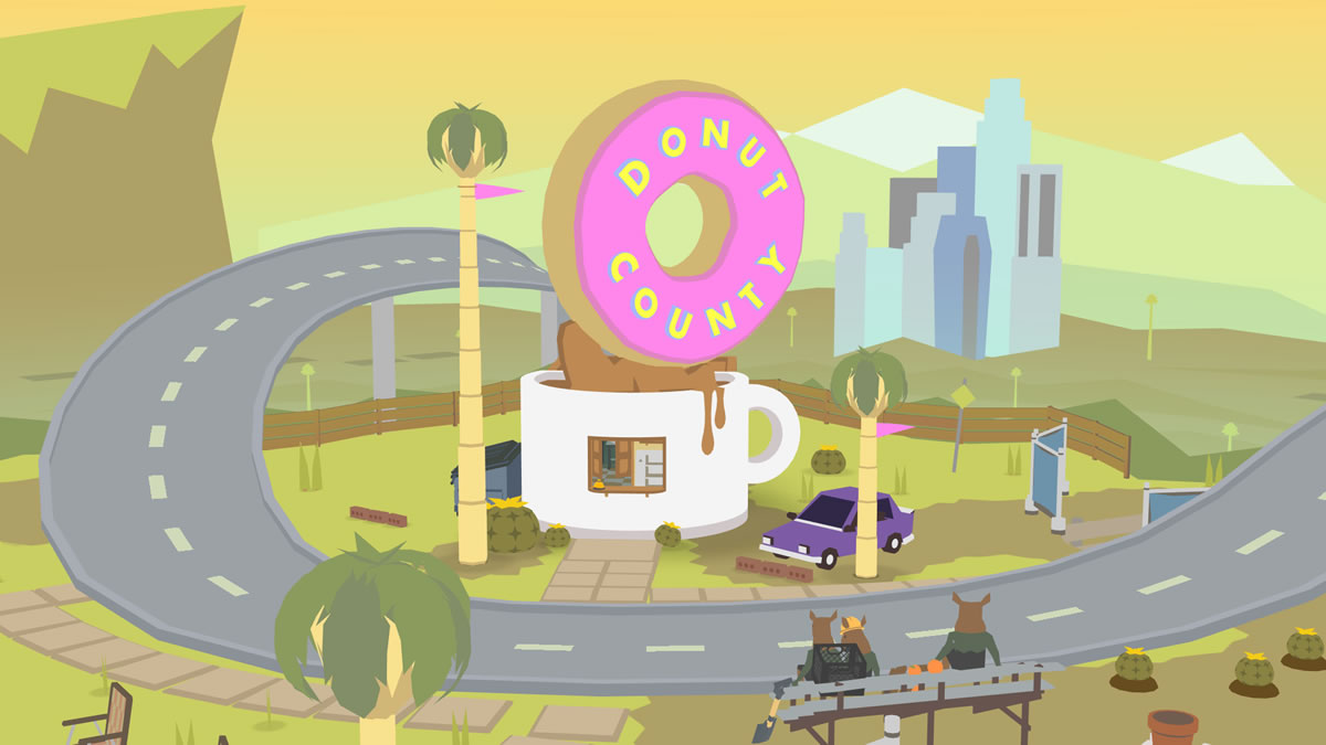Photo of O buraco de Donut County chega a novas plataformas na próxima semana