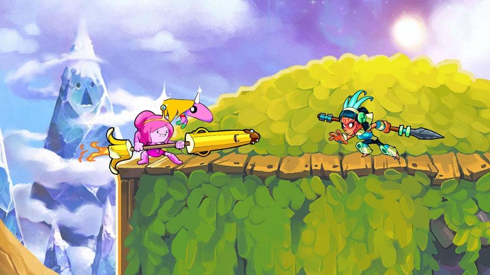Brawlhalla recebe personagens de Hora da Aventura — Portallos