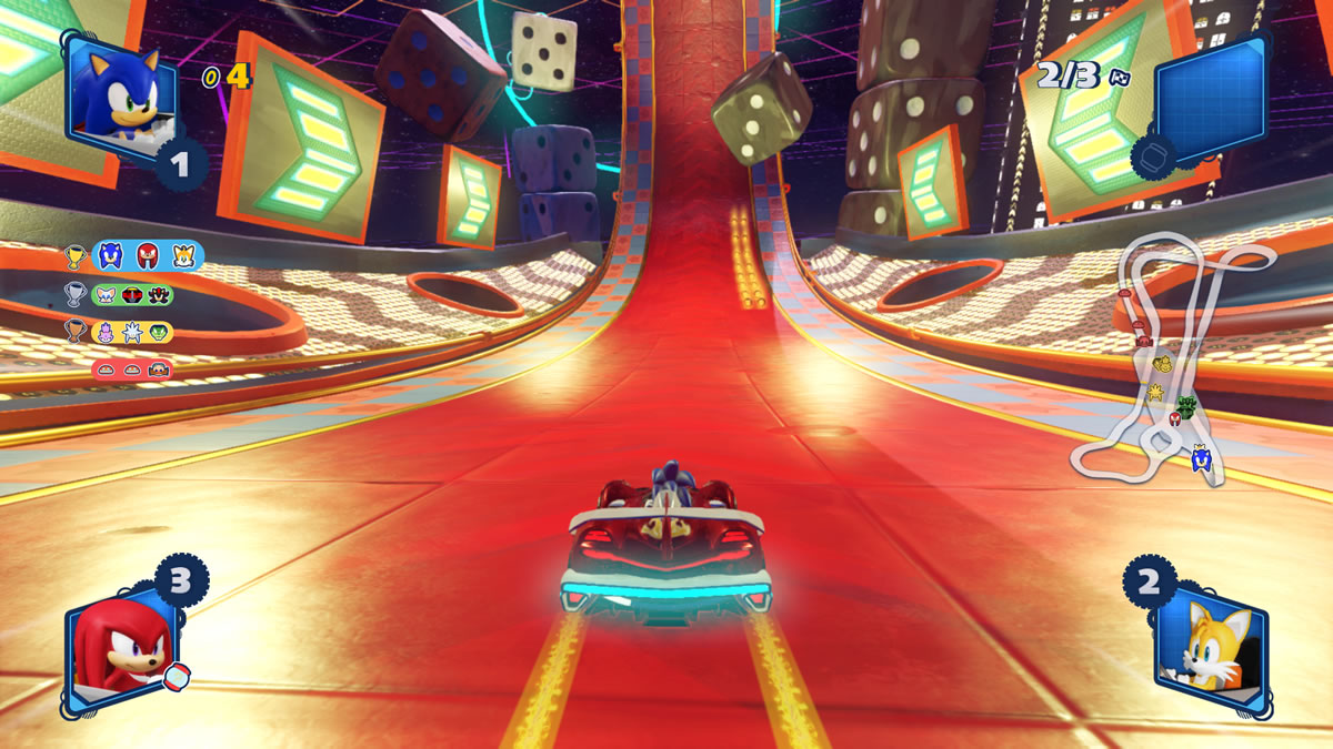 Team Sonic Racing analise review