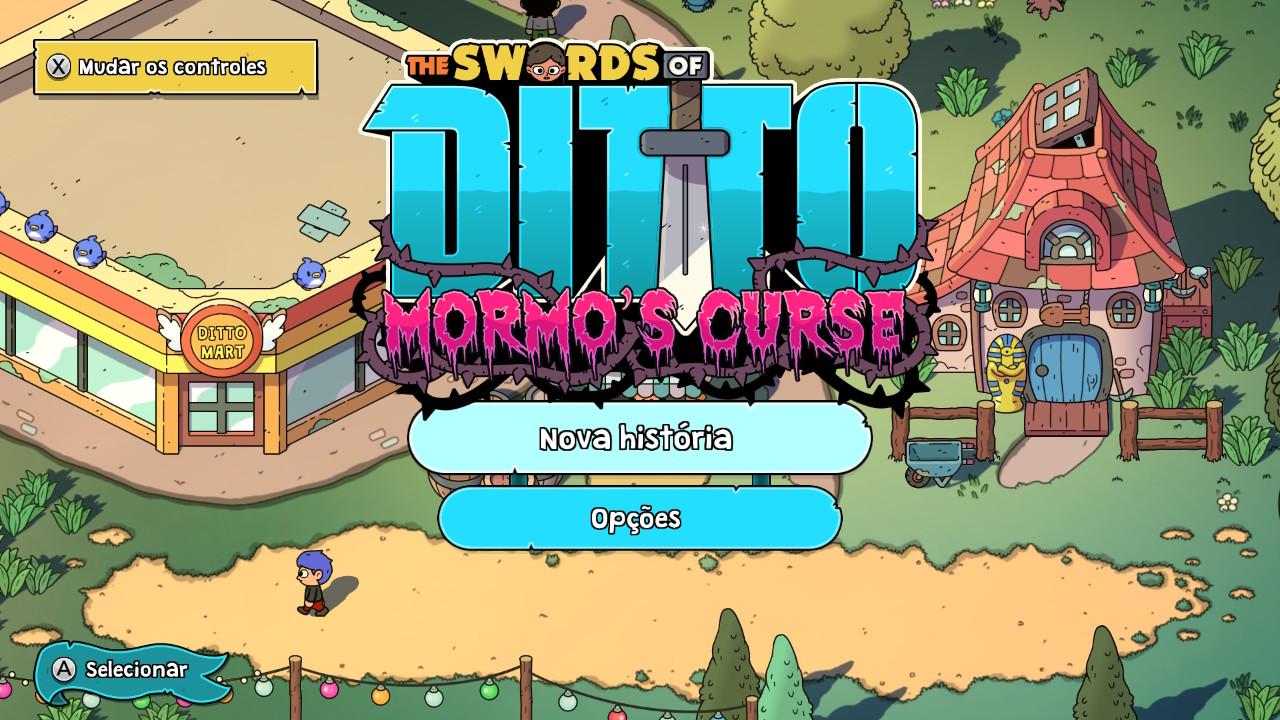 The Swords of Ditto Mormos Curse Tela