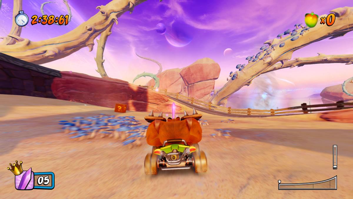 Crash Team Racing Nitro-Fueled analise review