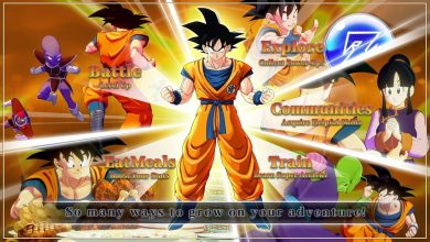 Dragon Ball Z Kakarot Progressão Personagem