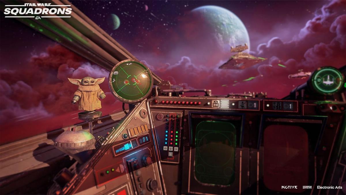 Star Wars Squadrons Mandalorian screen